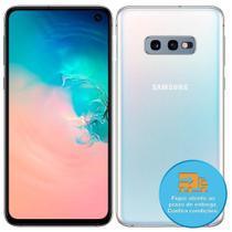 "Smartphone Samsung Galaxy S10e, Dual Chip, Branco, Tela 5.8"", 4G+WiFi+NFC, Android 9.0, Câmera 12+16 MP, 128GB -"