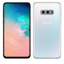 "Smartphone Samsung Galaxy S10e SMG970FZ 128GB 4GB 5,8"" 4G Câmera Dupla 12+16MP Dual Chip Branco -"