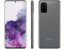 "Smartphone Samsung Galaxy S20+ 128GB 4G Octa-Core - 8GB RAM Tela 6,7"" Câm. Quádrupla + Selfie 10MP"