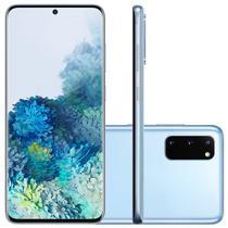 "Smartphone Samsung Galaxy S20 128GB 8GB RAM, Tela Infinita de 6.2"" Cloud Blue -"
