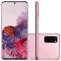 "Smartphone Samsung Galaxy S20 128GB 8GB RAM, Tela Infinita de 6.2"" Cloud Pink -"