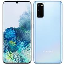"Smartphone Samsung Galaxy S20, Azul, Tela 6.2"", Câm Traseira 64+12+12MP e Frontal 10MP, 128GB -"