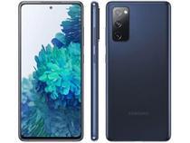 "Smartphone Samsung Galaxy S20 FE 128GB - Azul, Processador Qualcomm Snapdragon 865 - 2.8GHz, 4G, Câmera Frontal 32MP, RAM 6GB, Tela 6.5"" -"