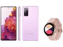 Smartphone Samsung Galaxy S20 FE 128GB - Cloud Lavander + Smartwatch Galaxy Watch Active