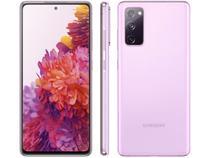 "Smartphone Samsung Galaxy S20 FE 128GB Cloud - Lavender 6GB RAM 6,5"" Câm. Tripla + Selfie 32MP"