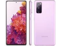 "Smartphone Samsung Galaxy S20 FE 128GB Cloud - Lavender 6GB RAM 6,5"" Câm. Tripla + Selfie 32MP -"
