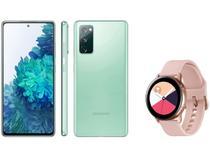 Smartphone Samsung Galaxy S20 FE 128GB - Cloud Mint + Smartwatch Galaxy Watch Active