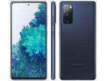 "Smartphone Samsung Galaxy S20 FE 128GB Cloud Navy - 4G 6GB RAM Tela 6,5"" Câm. Tripla + Selfie 32MP"