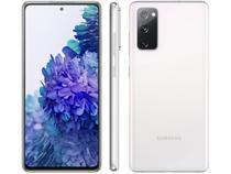 "Smartphone Samsung Galaxy S20 FE 128GB Cloud White - 6GB RAM Tela 6,5"" Câm. Tripla + Selfie 32MP"