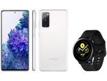 Smartphone Samsung Galaxy S20 FE 128GB - Cloud White + Smartwatch Galaxy Watch Active