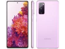 "Smartphone Samsung Galaxy S20 FE 256GB Cloud - Lavender 8GB RAM 6,5"" Câm. Tripla + Selfie 32MP"