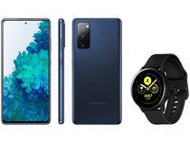 Smartphone Samsung Galaxy S20 FE 256GB - Cloud Navy + Smartwatch Galaxy Watch Active