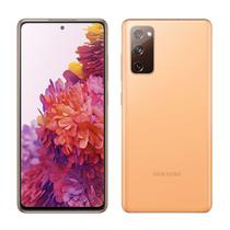 "Smartphone Samsung Galaxy S20 Fe, Laranja, Tela 6.5"", 4G+Wi-Fi+NFC, Android 10, Câm Traseira 12+12+8MP e Frontal 32MP, 128GB -"