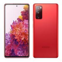 """Smartphone Samsung Galaxy S20 Fe, Vermelho, Tela 6.5"""", 4G+Wi-Fi+NFC, Android 10, Câm Traseira 12+12+8MP e Frontal 10MP, 128GB -"""