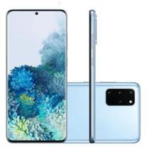 "Smartphone Samsung Galaxy S20+ G985F 128GB 8GB RAM Câmera Traseira Quádrupla Tela 6.7"" Cosmic Black -"