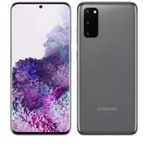 """Smartphone Samsung Galaxy S20 SM-G980F/DS 128GB Tela 6,2"""" 4G Câm. Tripla de 64MP+12MP+12MP Cinz -"""