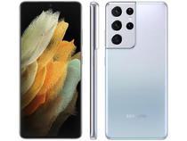 "Smartphone Samsung Galaxy S21 Ultra 512GB 5G - Prata, Câmera 108MP + Selfie 40MP, RAM 16GB, Tela 6.8"" -"