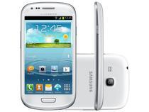 "Smartphone Samsung Galaxy S3 Mini 3G Android 4.2  - Câm. 5MP Tela 4"" Super Amoled Desbl. Vivo"