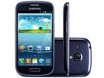 "Smartphone Samsung Galaxy S3 Mini 3G Android 4.2  - Câm. 5MP Tela 4"" Super Amoled Proc. Dual Core"