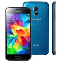 Smartphone - Samsung Galaxy S5 Mini Duos (3G / 16GB) - Azul - SM-G800/SM-G800H-DS -
