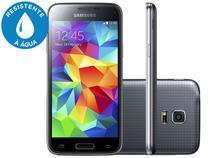 "Smartphone Samsung Galaxy S5 Mini Duos 3G - Dual Chip Câm. 8MP Tela 4.5"" Desbl. Tim"