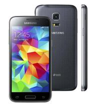 Smartphone Samsung Galaxy S5 Mini Duos G800H 16GB Tela 4.5 Android 4.4 Câmera 8MP SM-G800HZWJZTO -