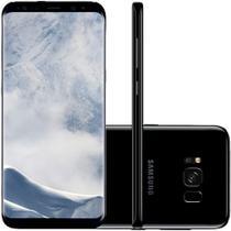 "Smartphone Samsung Galaxy S8 64GB Dual Chip 4G Tela 5,8"" Câmera 12MP Selfie 8MP Android 7.0 Preto -"