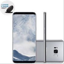 "Smartphone Samsung Galaxy S8 Dual 5.8"" 64GB 4G 12MP - Prata -"