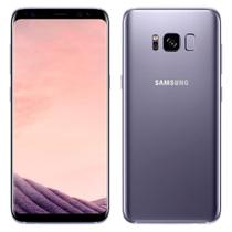 """Smartphone Samsung Galaxy S8, Dual Chip, Ametista, Tela 5.8"""", 4G+WiFi+NFC, Android 7.0, 12MP, 64GB -"""