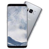 """Smartphone Samsung Galaxy S8 Dual Chip com 64GB, Tela 5.8"""", And 7.0, 4G, Câm 12MP e Octa-Core Prata -"""