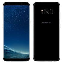 "Smartphone Samsung Galaxy S8, Dual Chip, Preto, Tela 5.8"", 4G+WiFi+NFC, Android 7.0, 12MP, 64GB -"