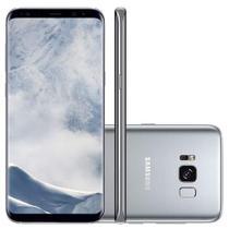 Smartphone Samsung Galaxy S8 Plus, 64GB, 6.2, Android 7.0, 4G, 12MP Prata - Claro Desbloqueado -
