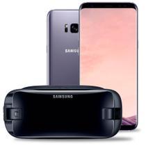 "Smartphone Samsung Galaxy S8 Plus, Ametista, G950FD, Tela de 6.2"", 64GB, 12MP -"