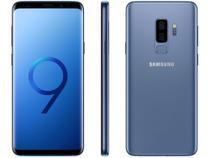 "Smartphone Samsung Galaxy S9+ 128GB Azul 4G - 6GB RAM Tela 6,2"" Câm. Dupla + Câm. Selfie 8MP -"