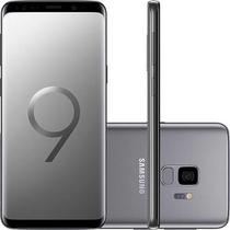 "Smartphone Samsung Galaxy S9 Cinza Dual Chip Android 8.0 Tela 5.8"" Octa-Core 2.8GHz 128GB 4G Câmera -"