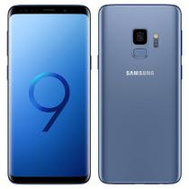 "Smartphone Samsung Galaxy S9, Dual Chip, Azul, Tela 5.8"", 4G+WiFi+NFC, Android 8.0, Câmera 12MP, 128GB -"