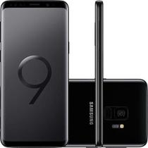 "Smartphone Samsung Galaxy S9  Preto Dual Chip Android 8.0 Tela 5.8"" Octa-Core 2.8GHz 128GB 4G Câmera -"