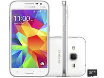 "Smartphone Samsung Galaxy Win 2 Duos TV 8GB - Dual Chip 4G Câm. 5MP Tela 4.5"" Proc. Quad Core"