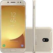 """Smartphone Samsung J5 Pro J530G 32GB Desbloqueado Dual Chip. Tela 5.2"""". 4G/Wi-Fi e 13MP - Dourado -"""