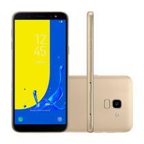 Smartphone Samsung J6 Dual Chip Android 8.0 Tela 5.6 32GB 4G Câmera 13MP - Dourado -