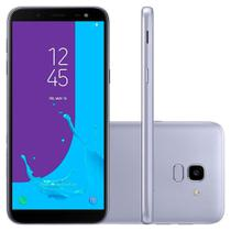Smartphone Samsung J6 Dual Chip Android 8.0 Tela 5.6 Câmera 13MP 32GB TV J600 -