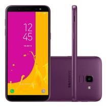 Smartphone Samsung J6 Dual Chip Android 8.0 Tela 5.6 Câmera 13MP 32GB TV J600