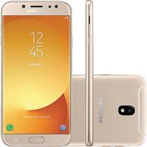 """Smartphone Samsung J7 Pro J730G 64GB Desbloqueado Dual Chip. Tela 5.5"""". 4G/Wi-Fi e 13MP - Dourado -"""