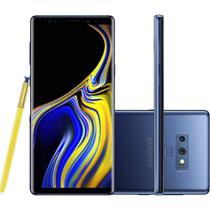 Smartphone Samsung Note 9, Caneta S Pen, Android 8.1, 128GB, 6GB, Dual Chip, 12MP, 4G -Azul