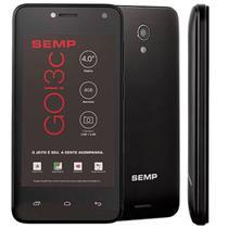 Smartphone Semp GO 3C 4018, Android 8.0 Oreo, Dual chip, 5MP, 4'', 8GB - Preto -