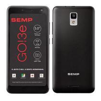 Smartphone Semp Go 3E, 8Gb, 8Mp, Tela 5, Preto - Go3E-Ptop - Semp Tcl