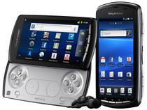 Smartphone Sony Ericsson Xperia Play Android 2.3  - Câmera 5.1MP Wi-Fi Certificado p/ Play Station