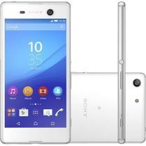"Smartphone Sony Xperia M5 E5643, Tela 5.0"", Android 5, OctaCor 2.0Ghz, 4G, 3GB, 16GB. 21MP - Branco -"