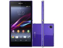 "Smartphone Sony Xperia Z1 4G Android 4.2 TV - Câm. 20.7MP Tela 5"" Full HD Proc. Quad Core 2.2Ghz"