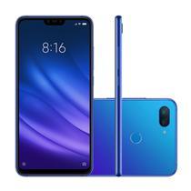 "Smartphone Xiaomi Mi 8 Lite 64GB 4GB 6,2"" Câmera Dupla 4G 12+5MP Dual Chip Azul -"